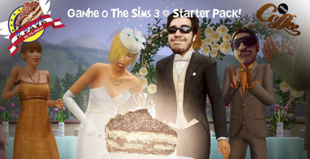 Pá Ganhá: The Sims 3 + Starter Pack